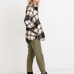 Flannel Sunday Shirt in Bromley Plaid | Madewell