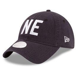 New England Patriots New Era Women's Hometown 9TWENTY Adjustable Hat - Navy   Fanatics