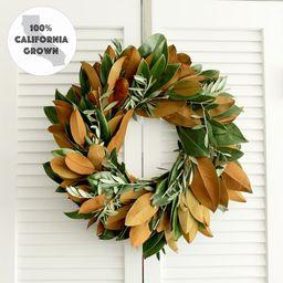 Fresh Handmade Wreath  Magnolia  Olive Branch Wreath | Etsy | Etsy (US)