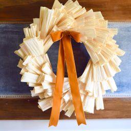Fall Wreath autumn wreath corn husk wreath | Etsy | Etsy (US)
