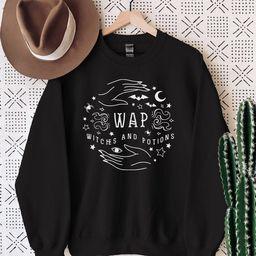 Funny Witch Sweatshirt / Halloween Crew Sweatshirt / Funny   Etsy   Etsy (US)