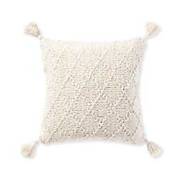 Fisherman's Knit Pillow Cover | Serena and Lily