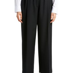 Marian Pleated Wool Ankle Pants   Nordstrom