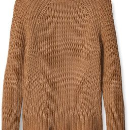 Amazon Brand - Goodthreads Women's Relaxed Fit Cotton Shaker Stitch Mock Neck Sweater | Amazon (US)