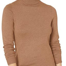 Amazon Essentials Women's Classic Fit Lightweight Long-Sleeve Turtleneck Sweater | Amazon (US)