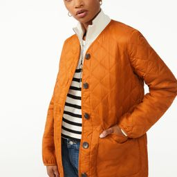 Free Assembly Women's Quilted Liner Jacket - Walmart.com   Walmart (US)