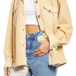 Teddy Bear Shirt Jacket | Nordstrom
