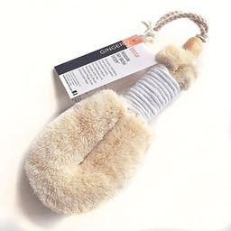 GingerChi Sisal Brush - Bath & Shower Dry Skin Body Smoothing Spa-Natural Lymphatic Bristle Fiber... | Amazon (US)