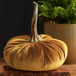 TIMIFIS 1 pc Handmade Velvet Pumpkins Decor Exquisite 5 Inch Fall Thanksgiving Christmas Party Ho... | Walmart (US)
