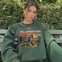 Halloweentown Crewneck Sweatshirt. Halloweentown Sweatshirt   Etsy   Etsy (US)