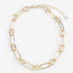 Interlocking Paperclip Chain Necklace   Express