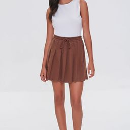 Pleated French Terry Skirt   Forever 21 (US)