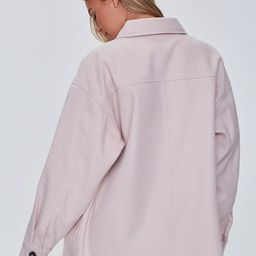 Oversized Button-Front Shacket   Forever 21 (US)