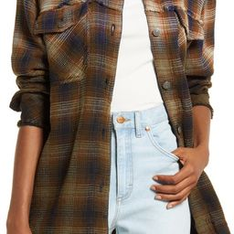 Anneli Plaid Shirt Jacket | Nordstrom