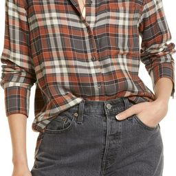 Plaid Boyfriend Shirt | Nordstrom