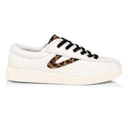 Nylite Plus Leather Sneakers   Saks Fifth Avenue