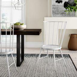 Vecchia Metal Side Chair (Set of 2) | Wayfair North America