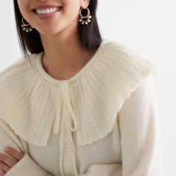 Statement Collar Knit Cardigan   & Other Stories