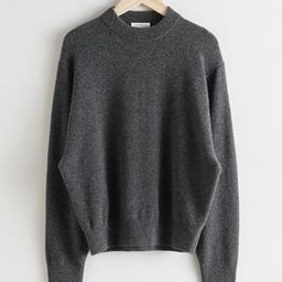 Oversized Wool Knit Jumper | & Other Stories