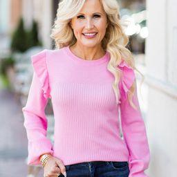 Randi Sweater- Pink | Avara
