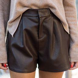 June Shorts- Brown | Avara