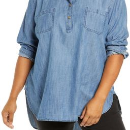 Chambray Popover Tunic | Nordstrom