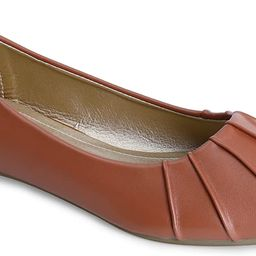 Trary Women's Pleated Pointed Toe Slip on Ballet Flat Shoes | Amazon (US)