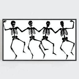 Samsung Frame TV Art Halloween Wall Art Black and White Art | Etsy | Etsy (US)