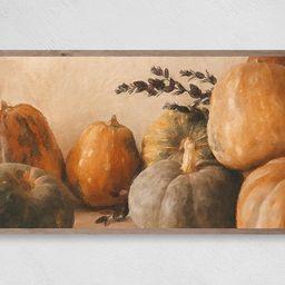 Classic Pumpkin Painting Samsung Frame TV Art Instant | Etsy | Etsy (US)
