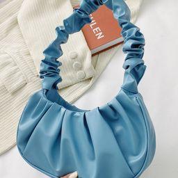 Ruched Shoulder Bag | SHEIN