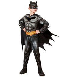 Kids' DC Comics Batman Deluxe Halloween Costume Jumpsuit with Accessories   Target