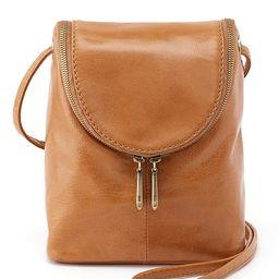 Vintage Hide Collection Fern Leather Crossbody Bag | Dillards