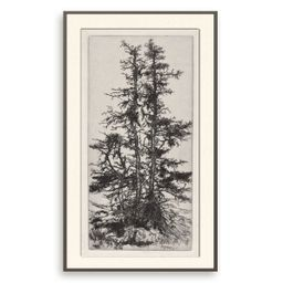 Vintage Moss Tree Print Antique Botanical Wall Art Printable | Etsy | Etsy (US)