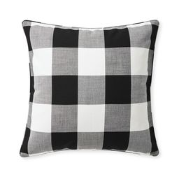 Perennials® Gingham Pillow Cover | Serena and Lily