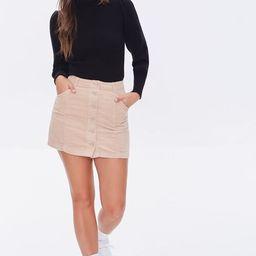 Corduroy Mini Skirt   Forever 21 (US)