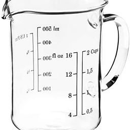 "IKEA Measuring Cup, 5.5""x 5""x 3.5"", Glass | Amazon (US)"