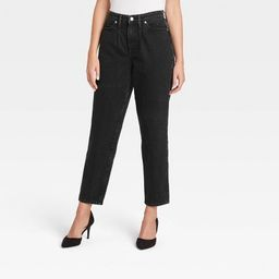 Women's High-Rise Stretch Carrot Leg Slim Jeans - A New Day™ | Target