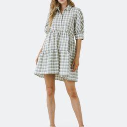 Plaid Mini Dress   Verishop