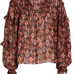 Miray Ikat Silk Blouse   INTERMIX