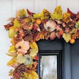 Harvest Pumpkin Garland | Grandin Road | Grandin Road