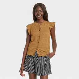 Women's Crewneck Sweater Vest - Who What Wear™ | Target