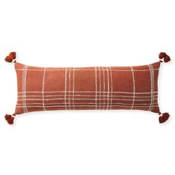 Asheville Pillow Cover - Terracotta | Serena and Lily