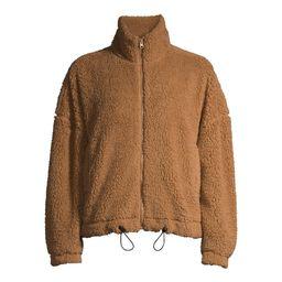 No Boundaries Juniors Full Zip Sherpa Jacket   Walmart (US)