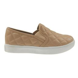 'Queen' Quilted Faux Leather Slip-on Sneakers (4 Colors) | Goodnight Macaroon