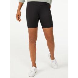 Free Assembly Women's High Waisted Bike Shorts | Walmart (US)