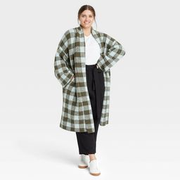Women's Houndstooth Open-Front Sweater Cardigan - A New Day™ | Target