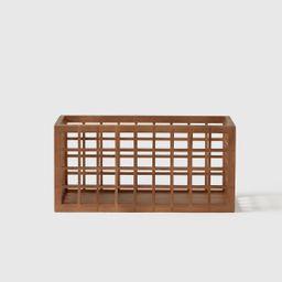 Marie Kondo Wide Shoji Bamboo Pantry Bin Kocha Brown | The Container Store