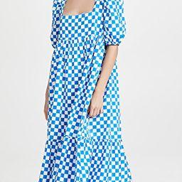 Check Print Midi Dress | Shopbop