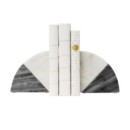 Duotone Marble Bookends (Set of 2) | McGee & Co.