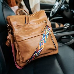 Essential Convertible Bag + Colorful Strap | Jane